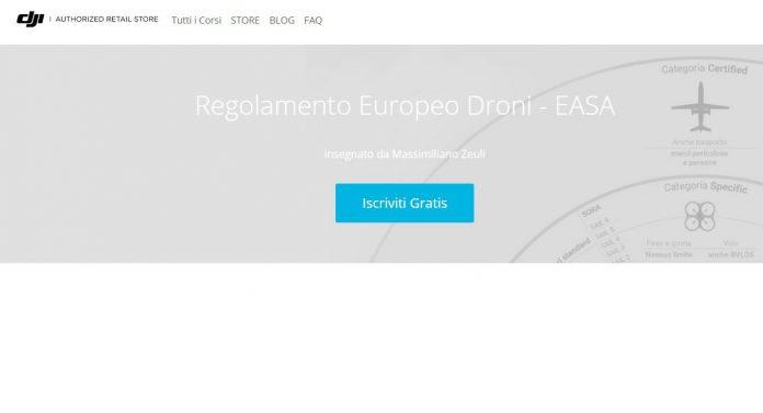 Corso Gratuito sul Regolamento Europeo sui Droni