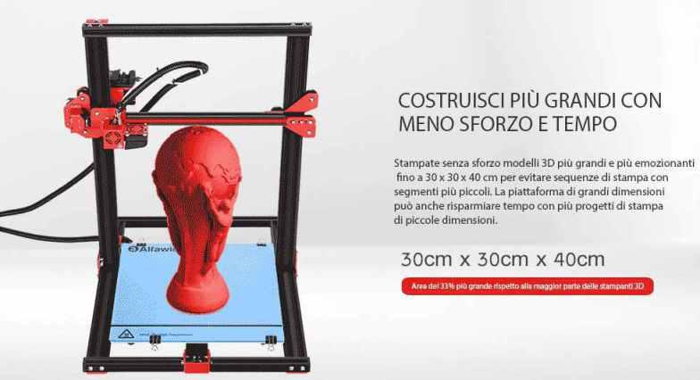 Stampante 3D Alfawise U20 Coupon Gearbest