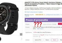 amazfit gtr 42mm su gearbest offerta