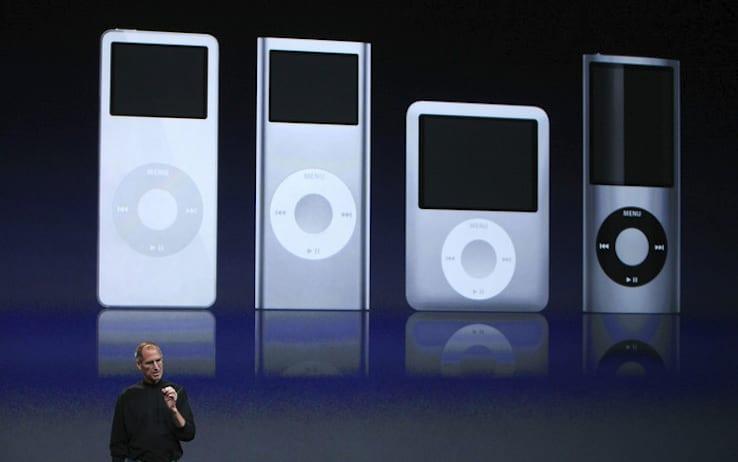 come spegnere iPod nano -2