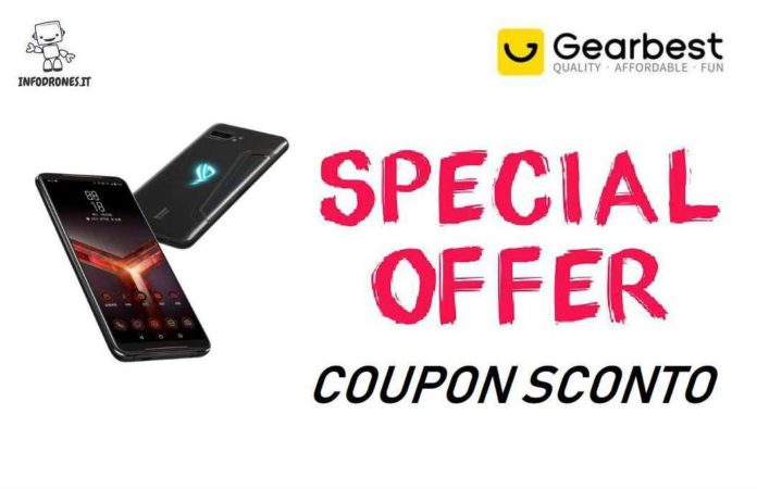 Asus Rog 2 Coupon Gearbest-offerta