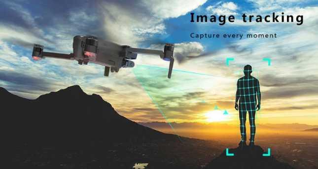 Hubsan Zino Pro image tracking