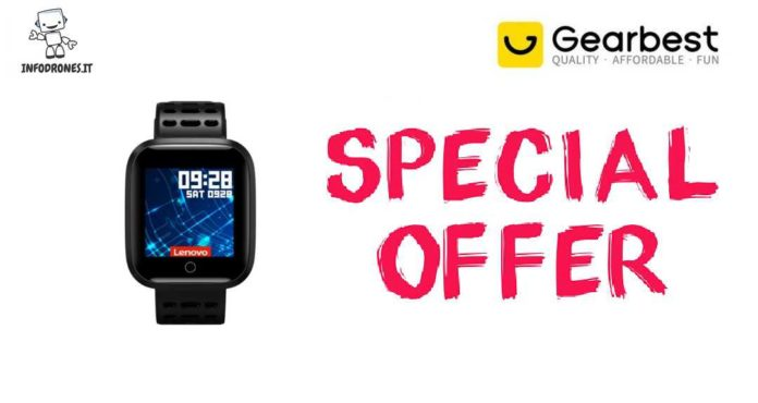 Smart Watch Lenovo E1 Coupon Gearbest