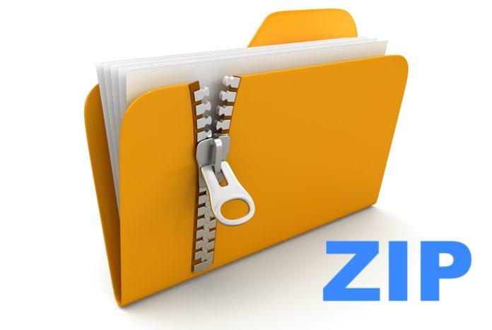 come aprire i file zip