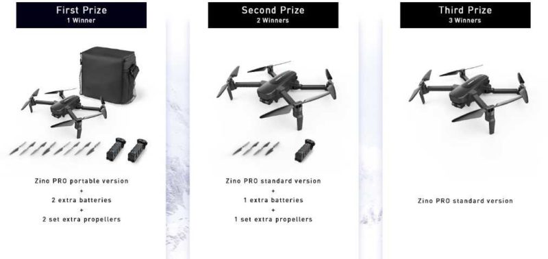 concorso vinci drone zino pro