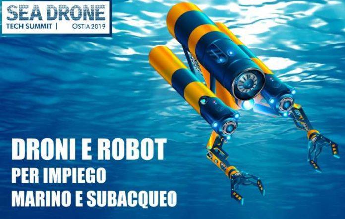 droni sul mare contro la plastica