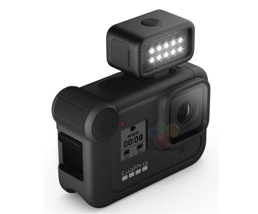 gopro hero 8 led