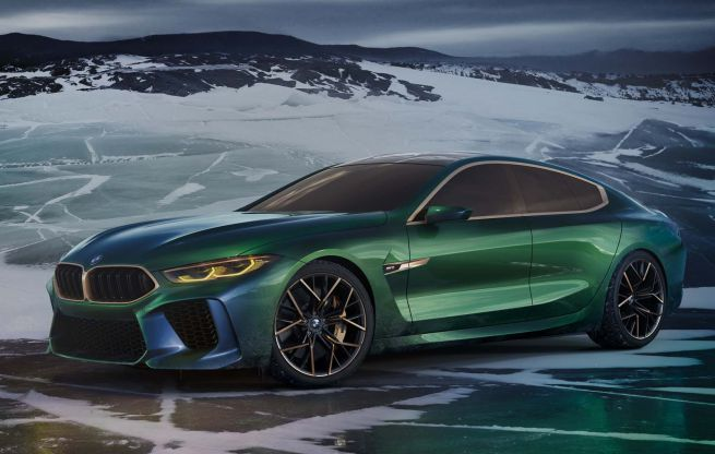 BMW M8 Gran Coupè Competition