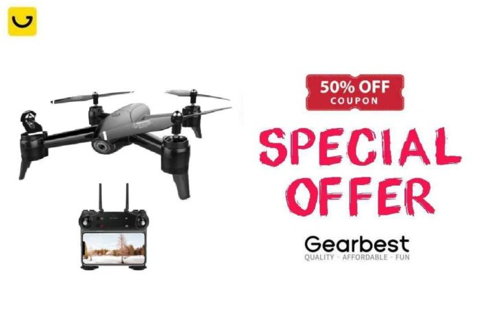 Coupon SG106 Drone Gearbest