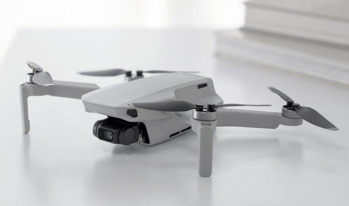 DJI Mavic mini pro e contro-drone