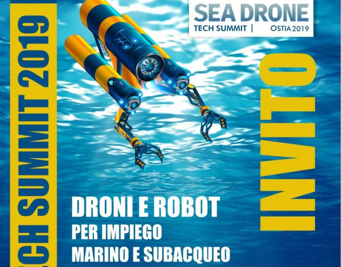 SEA DRONE TECH SUMMIT 2019-invito