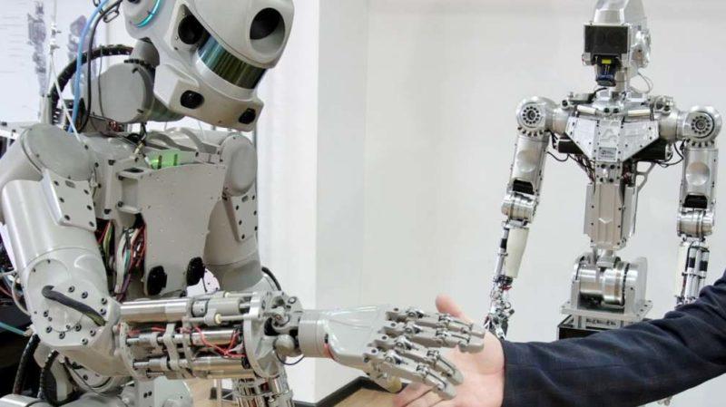 SkyBot F850 robot