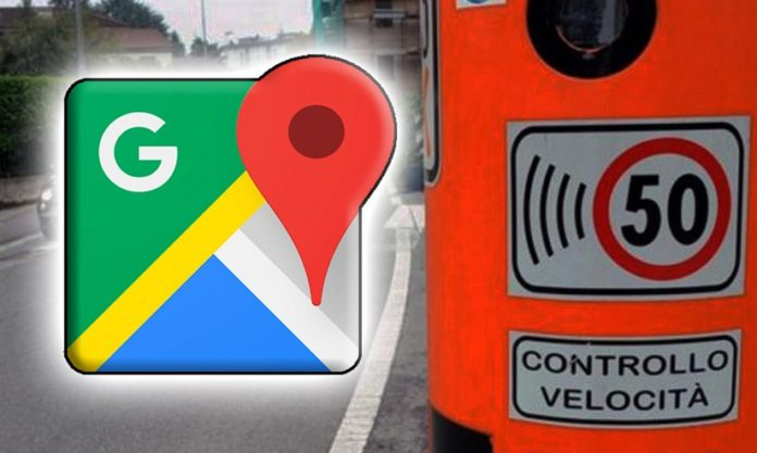 google maps autovelox