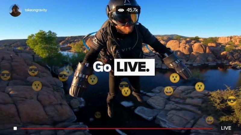 gopro hero 8 live