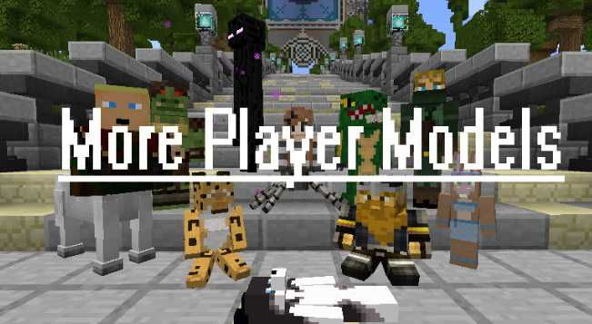 more player models-mod minecraft