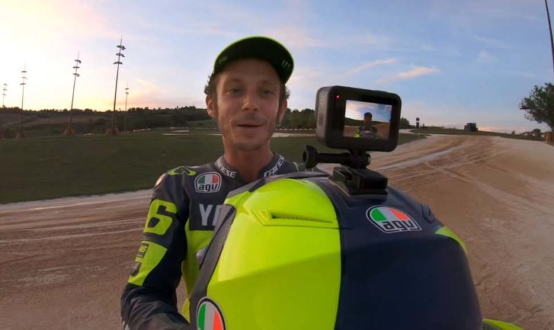 valentino rossi gopro hero 8 ranch