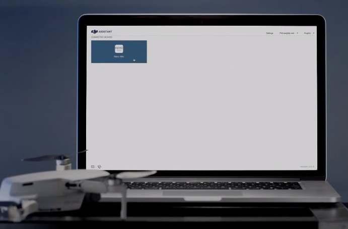 aggiornamento firmware dji mavic mini con dji assistant 2