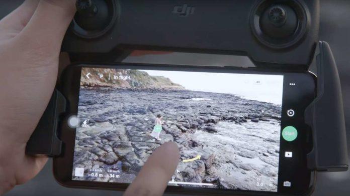 come usare la modalità circle su DJI Mavic Mini-video