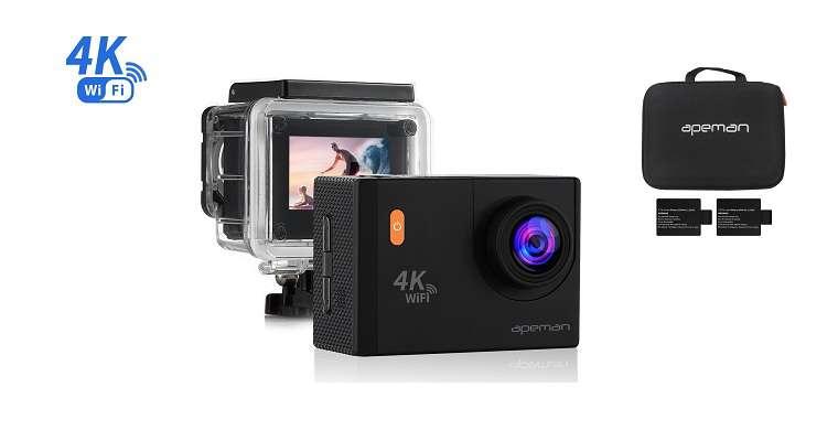 migliori action cam-apeman 4k