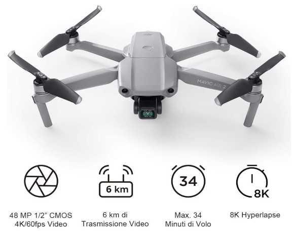 migliori droni-mavic air 2
