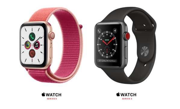 migliori smartwatch 2020-apple watch 5