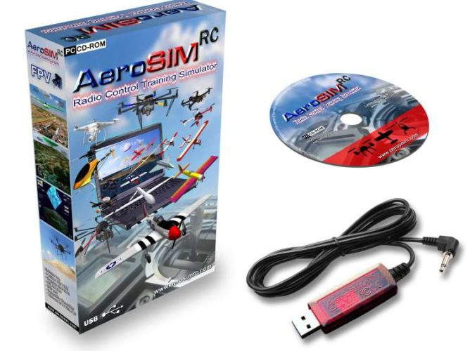 simulatore drone pc-aerosim rc