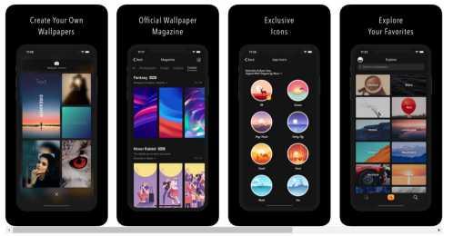 App per migliori sfondi iPhone X-claricity