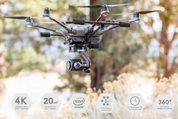 migliori droni professionali-yuneec typhoon h plus
