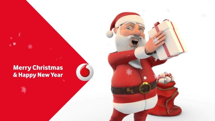 vodafone happy christmas
