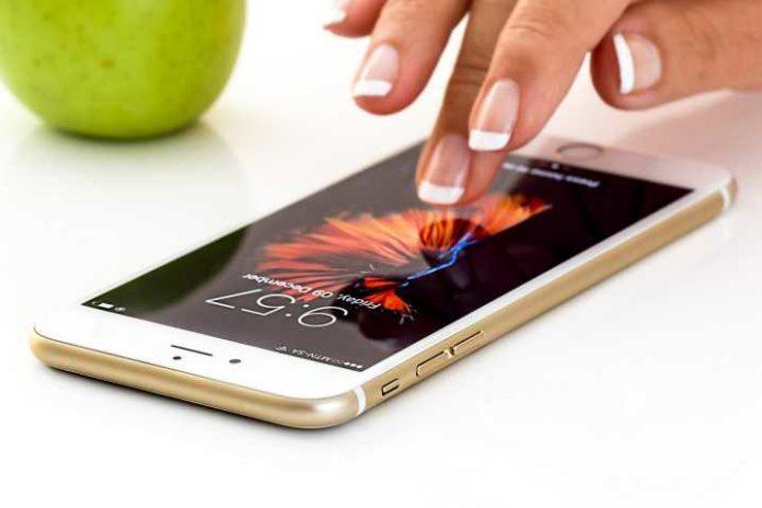 Cristalli Liquidi dello Smartphone Danneggiati