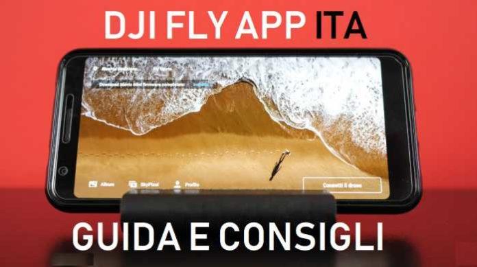 DJI fly app italiano