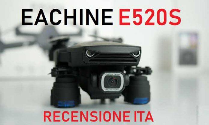 recensione Eachine E520S