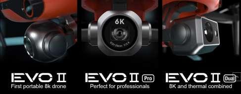 autel evo 2 camera 8k