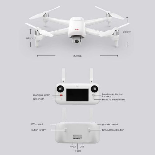 migliori droni sotto i 300 euro-fimi a3