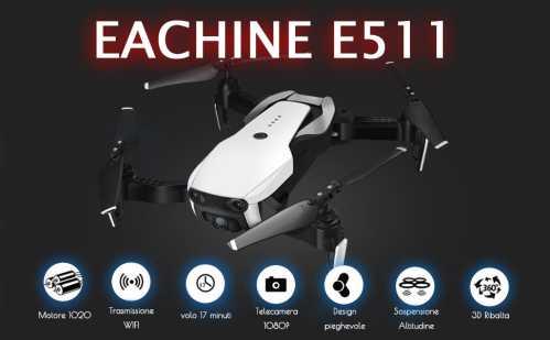 recensione e511s drone