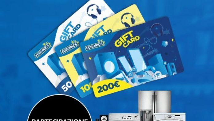 come funziona gift card euronics