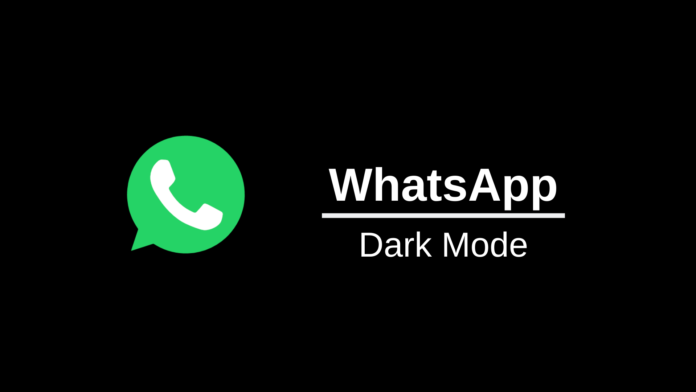 come avere whatsapp nero