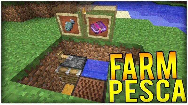 come fare una farm di pesca su minecraft -2