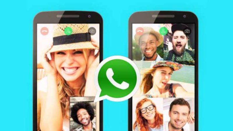 come fare videochiamate di gruppo su whatsapp -2