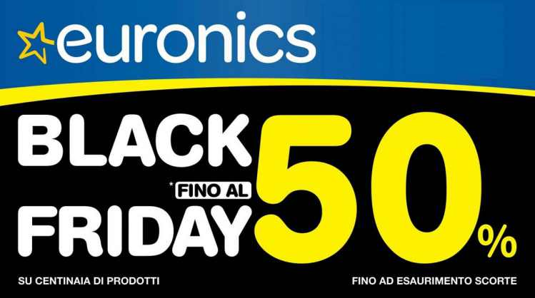 volantino euronics tufano black friday