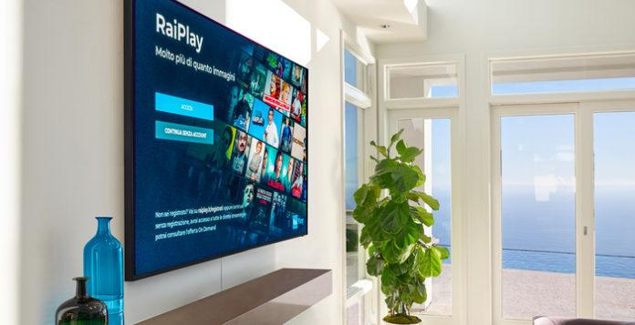 come vedere raiplay su smart tv samsung