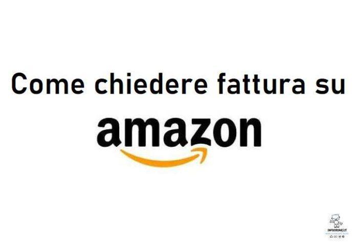 come chiedere fattura su Amazon