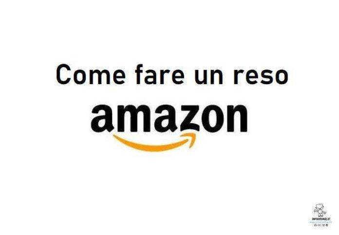come fare un reso su Amazon