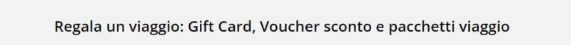 come usare voucher su Volagratis 2