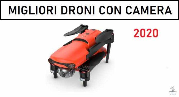 Migliori droni con telecamera 2020
