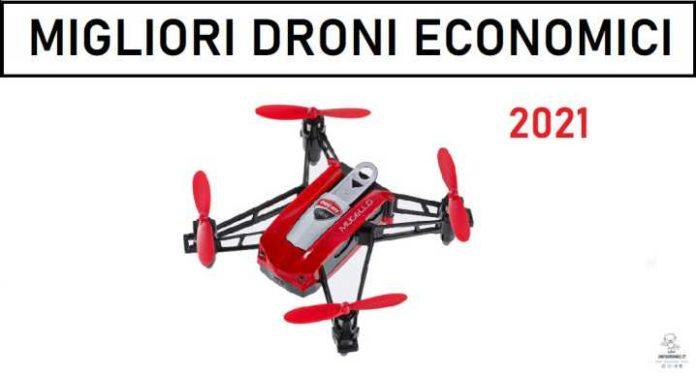 Migliori droni economici 2021