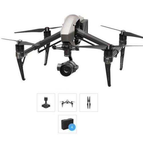 migliori droni con telecamera-dji inspire 2