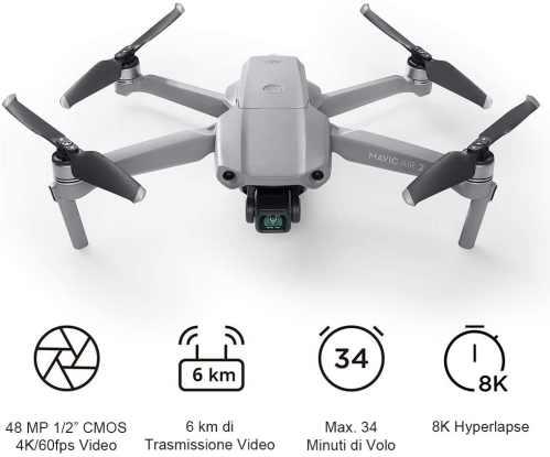 migliori droni pieghevoli 2021-dji mavic air 2