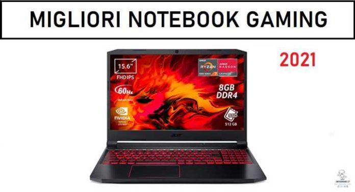 migliori notebook gaming 2021