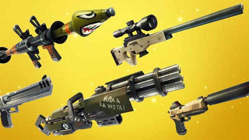 Dove trovare armi leggendarie Fortnite -2